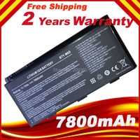 9 Cell Battery For MSI BTY M6D GT783H GX660 GX660DX GX70H GX780R GT70 GT760 GT60 7800mAh