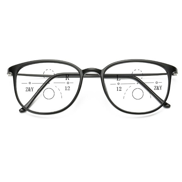 b93831ac85 Gafas de lectura de estilo progresivo de nueva moda de diseño con borde  completo para mujer