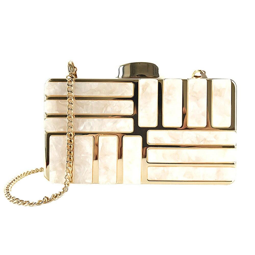 4a64847c03 HOT SALE] Women Acrylic Decoration Clutches Evening Chain Crossbody ...