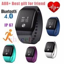 Последние Смарт-браслет модные спортивные SmartBand Bluetooth 4.0 водонепроницаемый сердечного ритма Мониторы активно Фитнес трекер сна Мониторы