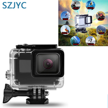 For Gopro accessori Hero 7 6 5 Accessories Waterproof Protection Housing Case Diving 60M Protective For Gopro Camera for gopro hero 6 5 accessories waterproof protection housing case diving 45m protective for gopro hero 6 5 camera