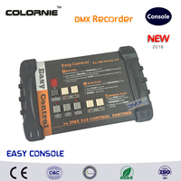 DHL Free Shipping New Arrival 2pcs Lot Compact DMX LED Stage Light Controller Recorder Disco DJ