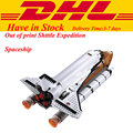 2017 Nueva LEPIN 16014 1230 Unids Space Shuttle Expedition Kits de Edificio Modelo Conjunto Bloques Ladrillos Compatibles Juguete de Los Niños 10231
