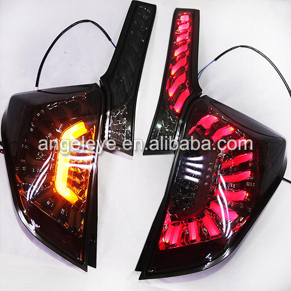 2014 year For Honda for Fit Jazz LED Rear Lamp Tail Light Dark Black Color LH ...