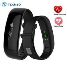 Teamyo m88 смарт-диапазона артериального давления смотреть сердечного ритма монитор cardiaco деятельность трекер фитнес часы с шагомер ip67