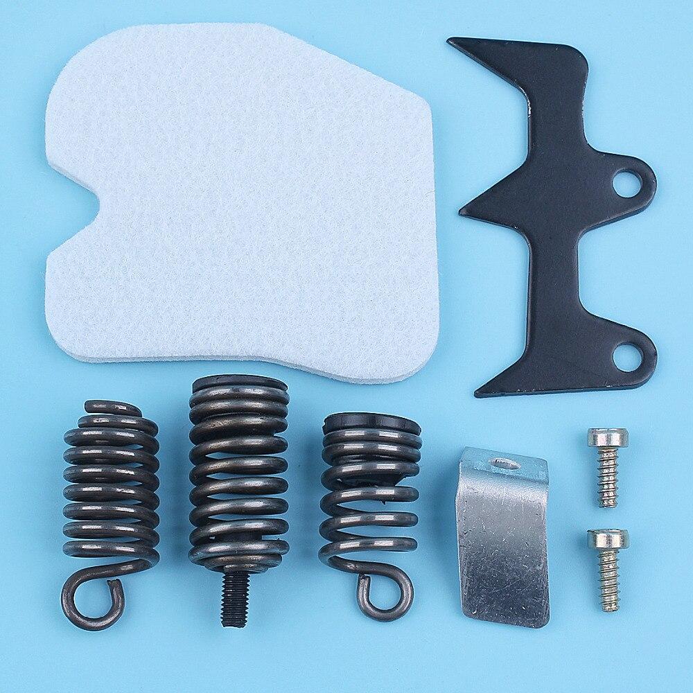 Bumper Spike AV Isolator Vibration Mount Catcher Kit For Husqvarna 235 236 240 E 235E Chainsaw 545033901 Replacement Part