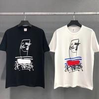 Jean Paul Gaultier T Shirt Signature Graffiti Men Women T shirt High Quality Jean Paul Tee