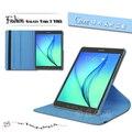Novo caso para samsung galaxy tab s2 9.7 polegadas t810 t815 tablet pu caso capa de couro girando frete grátis