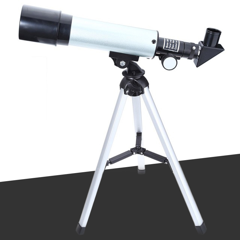 F36050M Outdoor Monocular Space Astronomical Telescope With Portable Tripod Spotting Scope Learning Machine ...