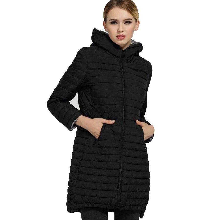 MANDADI women Clothes 2017 Winter Jacket women Cotton Padded Long Sleeve Winter coat women hooded Long Jacket Female Plus size