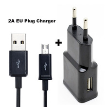 2A EU US Plug Adapter Mobile Phone Travel Charger +USB Data Cable For Doogee Turbo 2 DG900 X9 MINI T5S,Wiko Freddy,U Feel Lite