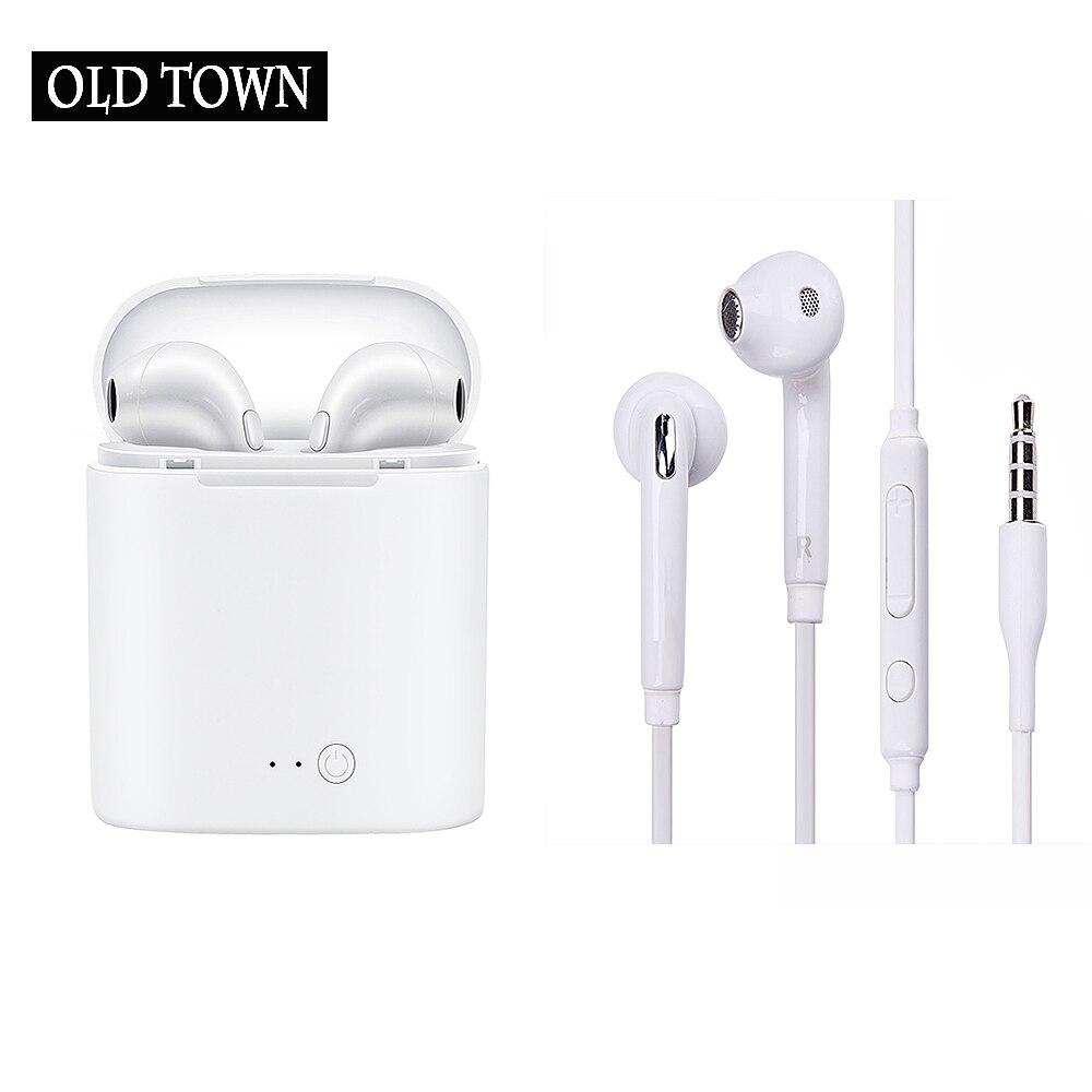 Tws I7s for Apple Iphone 5s 6s 5 Xiaomi In-ear Earphone Bass Earbud Headset Headphone for Airpro Earpod Samsung Sony Earpiece