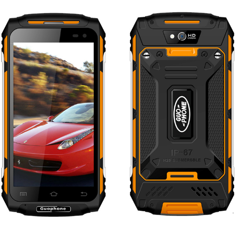 Android 6.0 Smartphone GUOPHONE X2 2 GB RAM 16 GB ROM MTK6737 Quad Core 8MP D'origine Étanche Mobile Téléphone 4G WCDMA Double Sim