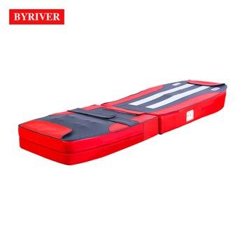 Массажный коврик BYRIVER, Нефритовый Массажный коврик с подогревом, стол для массажа, матрас для кровати, массажер для всего тела с 9 + 4 роликами
