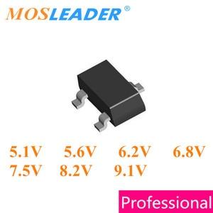 Image 1 - Mosleader 3000 PC SOT23 BZX84C5V1 5,1 V BZX84C5V6 5,6 V BZX84C6V2 6,2 V BZX84C6V8 6,8 V BZX84C7V5 7,5 V BZX84C8V2 8,2 V BZX84C9V1 9,1 V