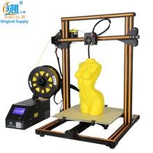 Creality 3D CR-10S Desktop 3D принтер металла Рамка высокий профессиональный Разрешение стабильный один экструдер ЖК-дисплей Дисплей нитей