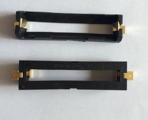 Image 2 - 10Pcs/lot High Quality 1X 18650 Battery Holder SMD With Bronze Pins 18650 Battery Storage Box TBH 18650 2C SMT