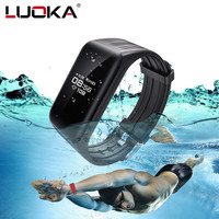 Newes Smart Bracelet Band IP68 Waterproof OLED Heart Rate Fitness Tracker Smart Wristband For Android IOS