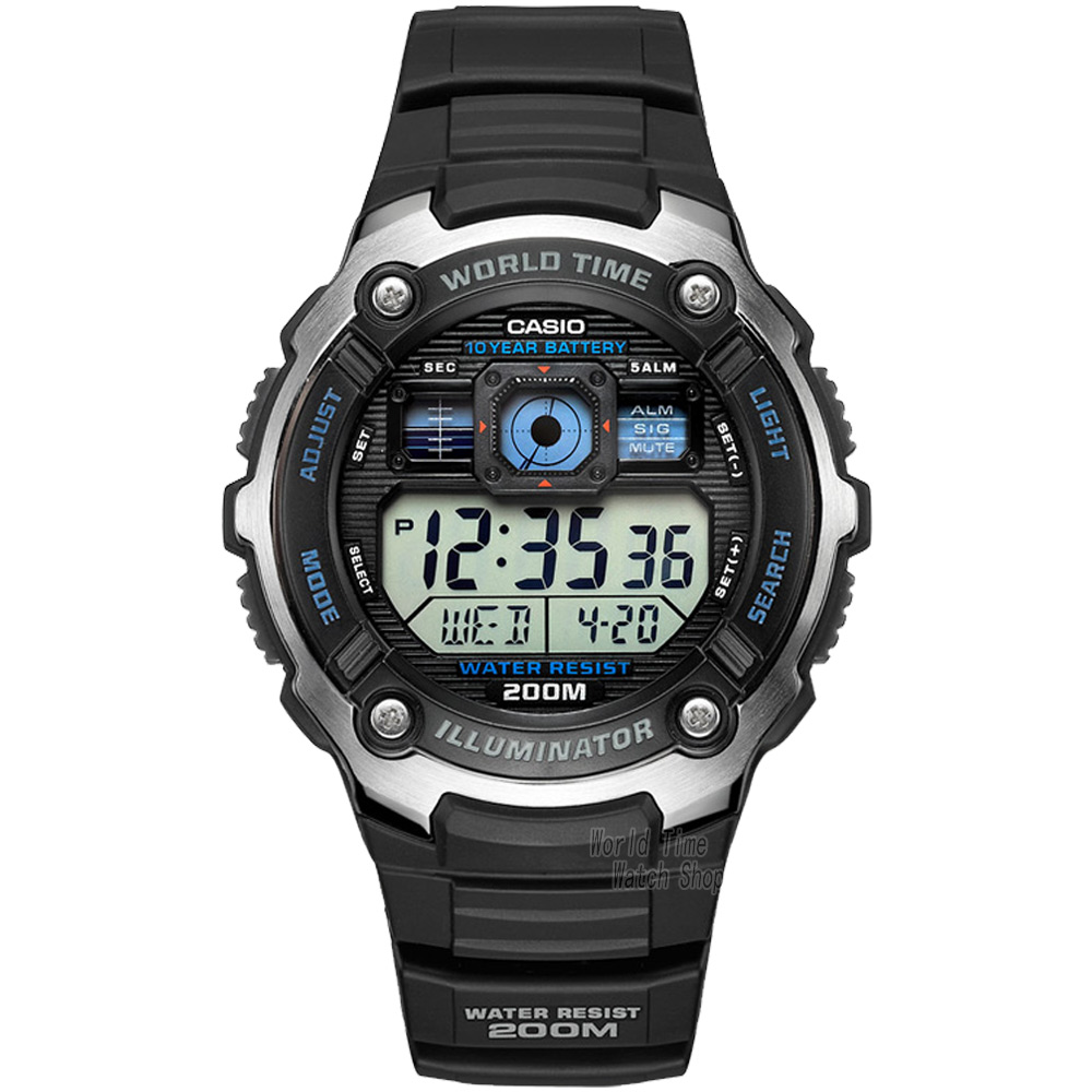 font b Casio b font font b Watch b font Outdoor Sports Waterproof Quartz Men