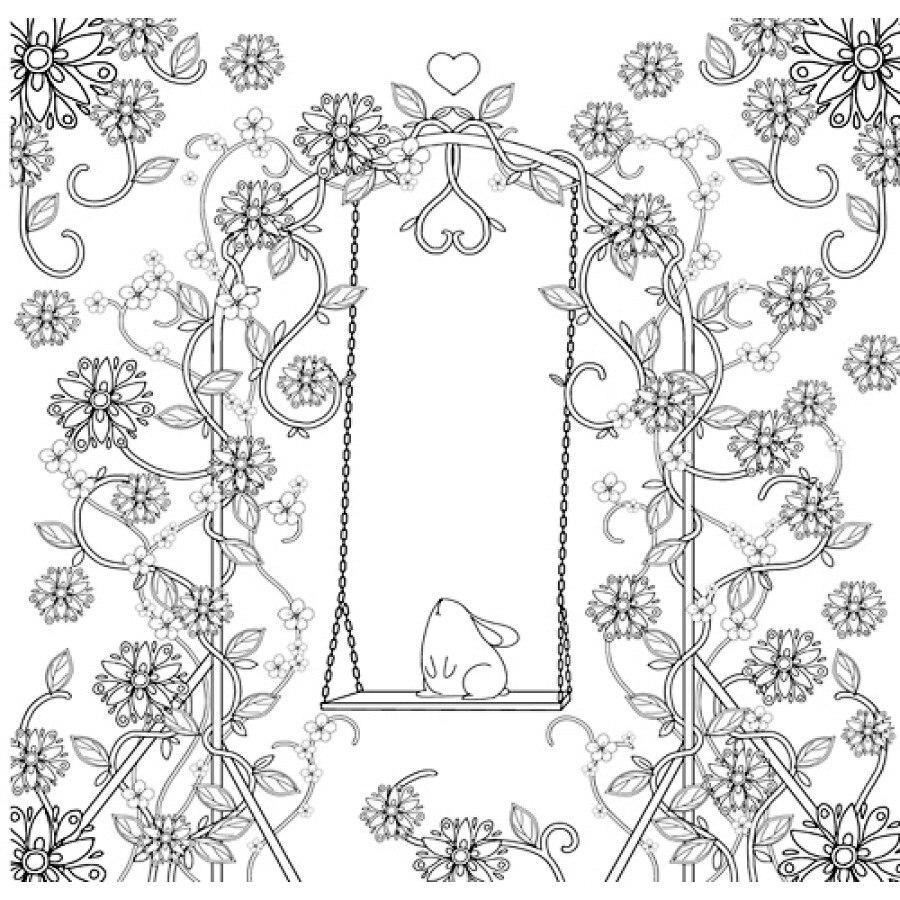 2 unids selva Monogatari libro para colorear fantasía jardín libro ...