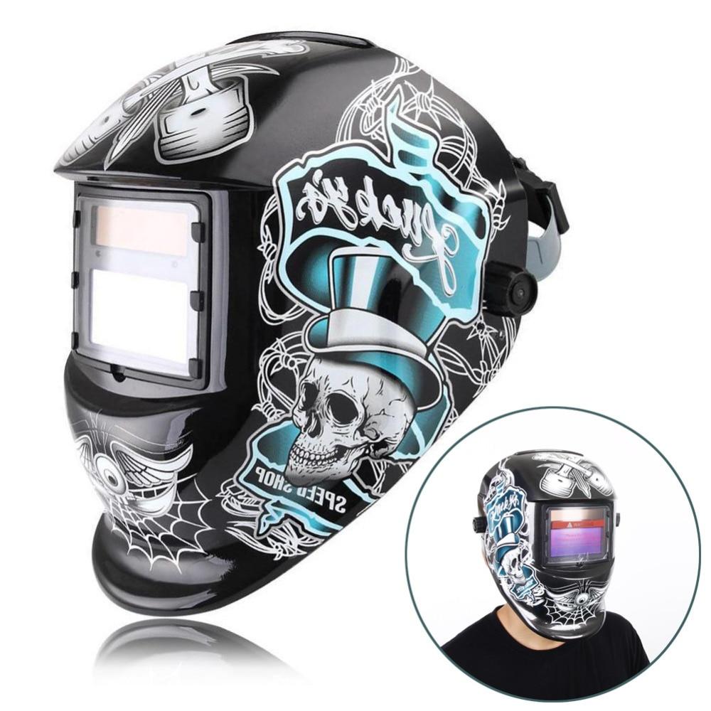 SLR New Mask Solar Auto Darkening Welding//grinding  Helmet  certified hood