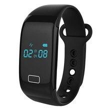 JW018 Bluetooth Smart Браслет монитор сердечного ритма фитнес-трекер активности браслет для IOS Android-смартфон