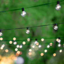 LED String Lights Bulbs G40 25ft Waterproof Indoor Outdoor Lighting Decoracion for Holiday Christmas