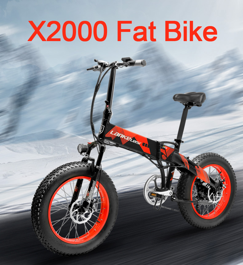 HTB13XHDbcfrK1Rjy0Fmq6xhEXXa0 - 20 Inch Electrical Snow Bike Electrical Bicycle Two Wheel Brushless Motor 500W 48V Mountain Bike Folding Moveable Electrical Scooter