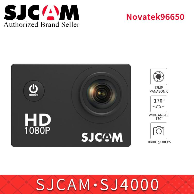 Galleria fotografica SJCAM SJ4000 NTK96650 Action Camera Diving 30M Waterproof Kamera 1080P Full HD 170 Degree sj helmet Cam vs go pro mini camcorder