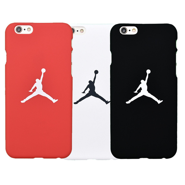Classical Fashion Brand NEW Jordan Flyman Logo Hard Matte Plastic Case For  IPhone 7 Plus 8