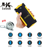 JKCOVER 18000mAh Car Jump Starter 12V Starting Device Multi Function Booster Portable Power Bank Emergency Charger