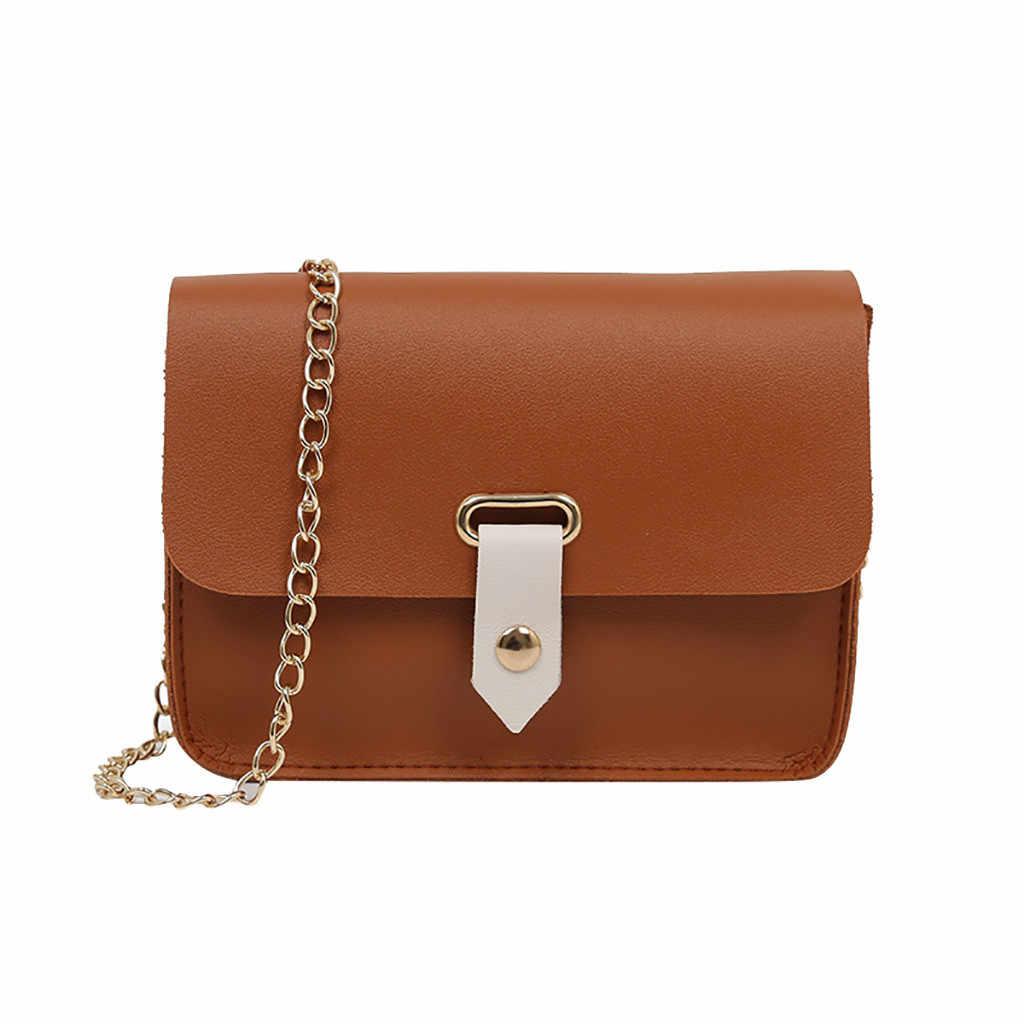 Mode femme Simple sac à bandoulière sauvage décontracté petit sac carré sac à bandoulière petit rabat sacs à bandoulière pour les femmes