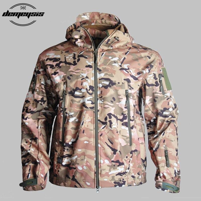 Wasserdichte Outdoor Jagd Wandern Outwear Mäntel Military Kleidung Taktische Jacken Mantel Atmungsaktiv Windbreaker Sport Kleidung