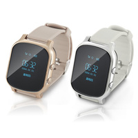 T58 Smart GPS Tracker WIFI Locator Anti Lost Watch for Kids Elder Child Student Smartwatch with SOS Remote Monitor Geofence