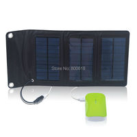5V 1A mini folding solar panel for mobile phone solar charger for power bank and 5v usb phone