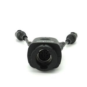 Image 2 - Godox DB 02 iki in one Kablo Y 2 1 Güç Adaptörü için PROPAC Flaş Pil Paketi PB960 PB820 Speedlite AD360 II AD180