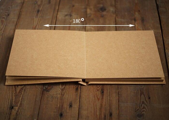 Eccezionale Kraft spessore libro a copertina rigida carta blank scrapbooking  RJ71