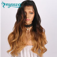 150% Density 13x6 Lace Front Human Hair Wigs With Baby Hair Brazilian Virgin Hair Glueless Lace Wigs Pre Plucked NYUWA