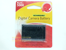 KLIC-5000 KLIC5000 K5000 Rechargeable Camera Battery For Kodak Z7590 P880 DX7590 DX6490 DX7440 P850 LS420 LS753 LS743 LS443
