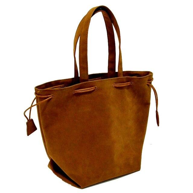 simple women fashion Flannel drawstring shopping bag supermarket trolley bags handbag tote eco bag solid reusable bag 1519bag