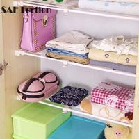 SAE Fortion New Disign White Mutifunctional Storage Shelf Rack Adjustable Kitchen Cabinet Clothes Storage 8 Different Size
