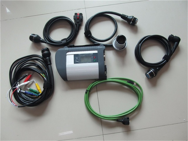 Cheap Top-Quality mb star c4 2018 SD connect c4 with 5 cables diagnostic scanner for tucks+ cars