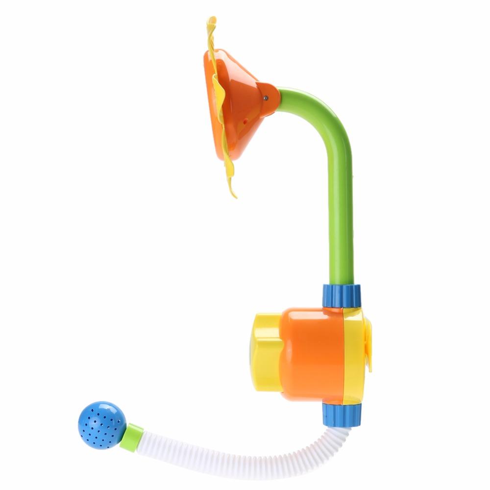 دش ماء لاستحمام الاطفال بشكل دوار الشمس 4