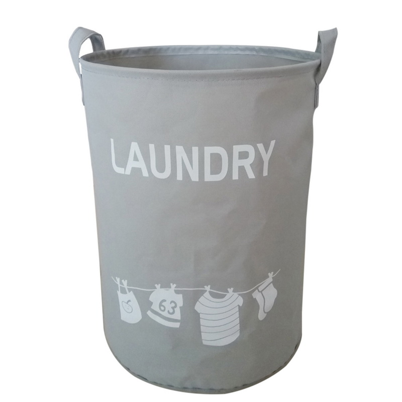 Hoomall Foldable Laundry Basket For Cloth Fabric Storage Basket Hamper 34cmx45cm ...