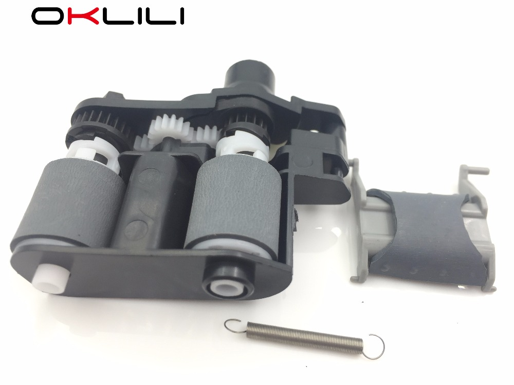 5SET X CE538 60137 ADF Pickup Roller Separation Pad for HP CM1415 M1536 P1566 P1606 CP1525 PRO 100 Color MFP M175 M176 M177 M276 separation pad pickup roller separation roller -