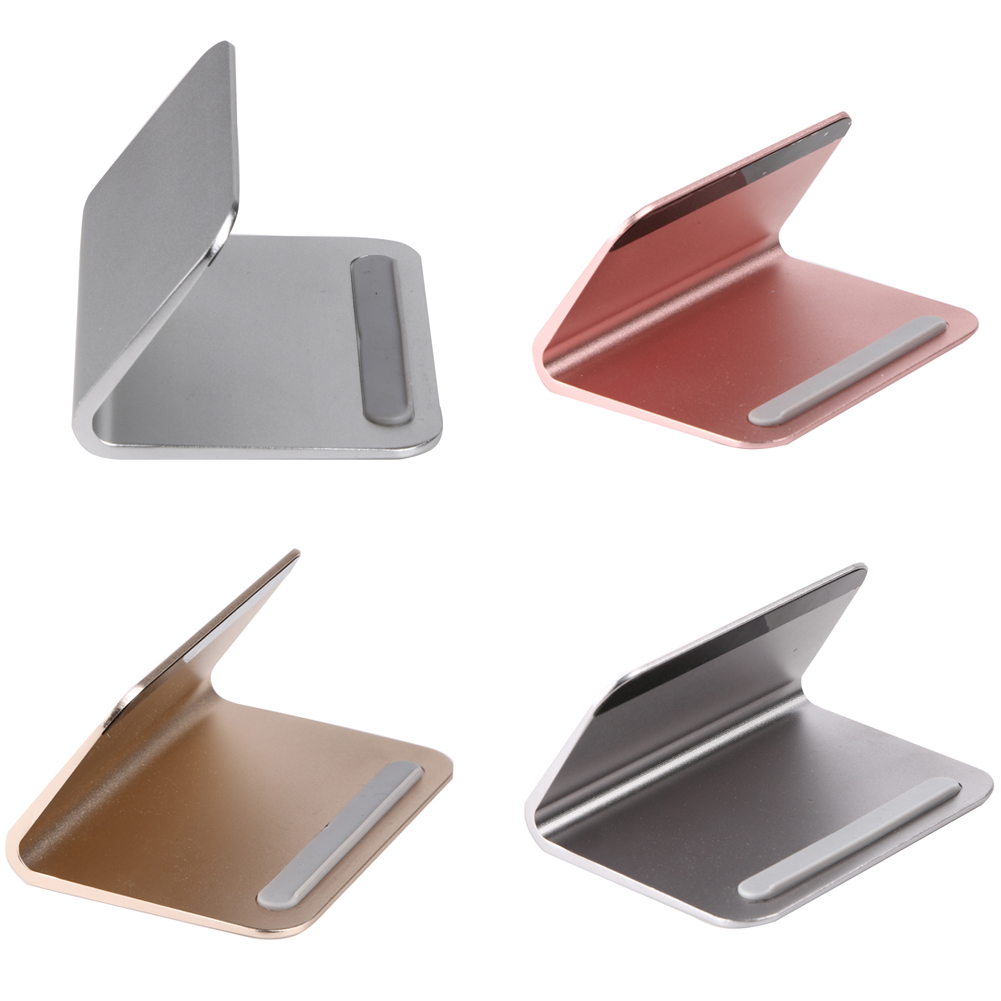 Universal Desktop Tablet Stand Aluminum 100*75*52mm Stand Holder For Smartphone iPad Tablet Macbook PC 26mm laptops