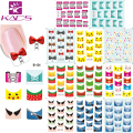2016 New B122-132 11 sheet/SET  Tip Nail Art French Nail Stickers stickers for nails Nail Decal Manicure Flower for Women