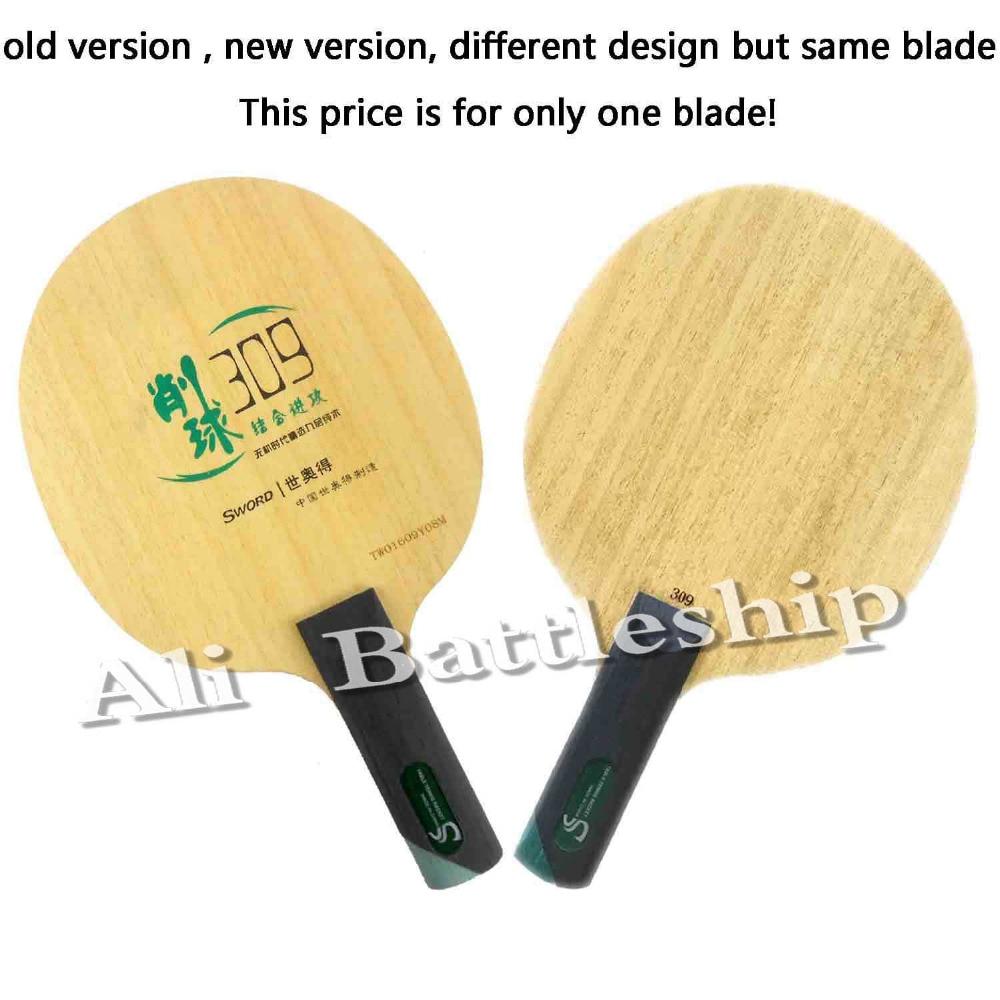 Original Sword 309 Chop Type straight handle table tennis racket blade ping pong bat blade yinhe galaxy 980 defensive chop play table tennis blade chop racket ping pong bat paddle