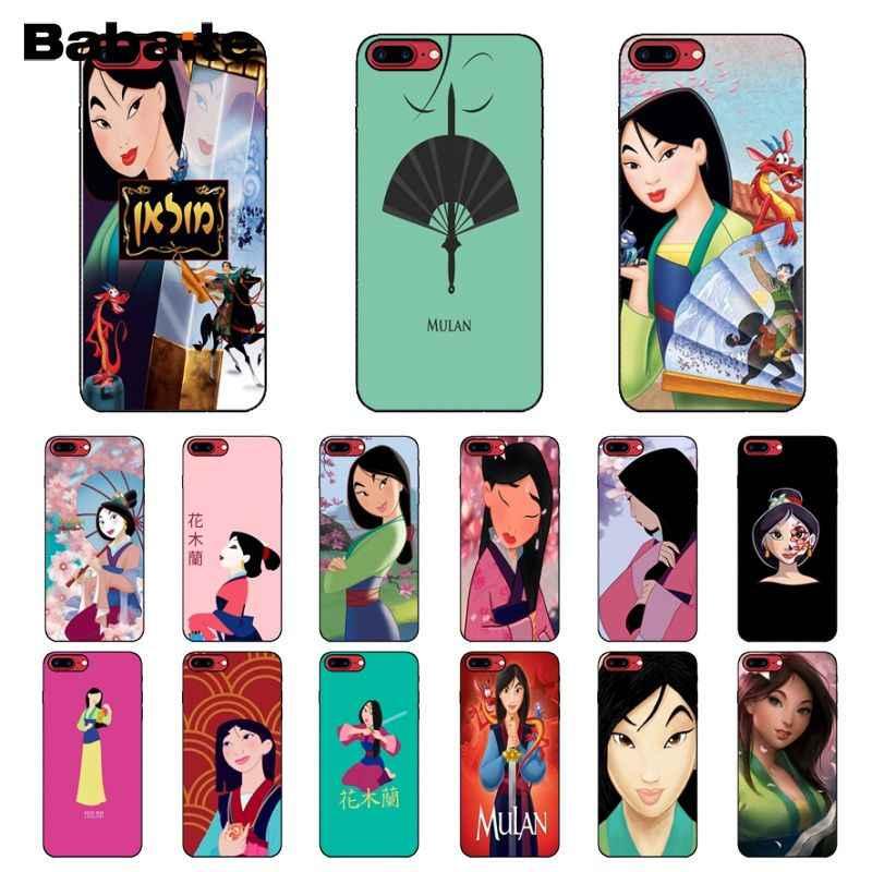 Babaite мультфильм Мулан фильм DIY Роскошный высокого класса протектор чехол для Apple iPhone 8 7 6 6 S плюс X XS MAX 5 5S SE XR крышка