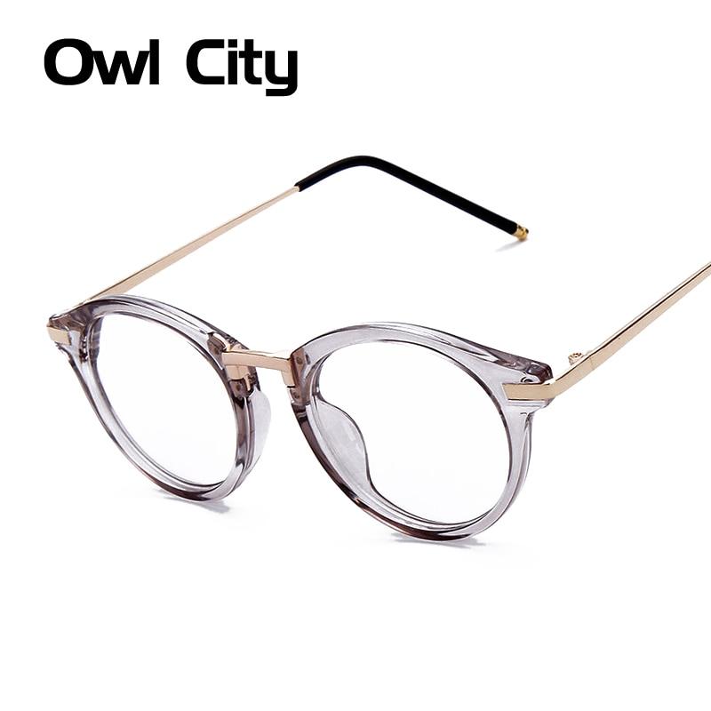 النساء النظارات الأزياء قصر النظر النظارات البصرية إطار الكمبيوتر ماركة تصميم عادي نظارات oculos دي غراو femininos F15018
